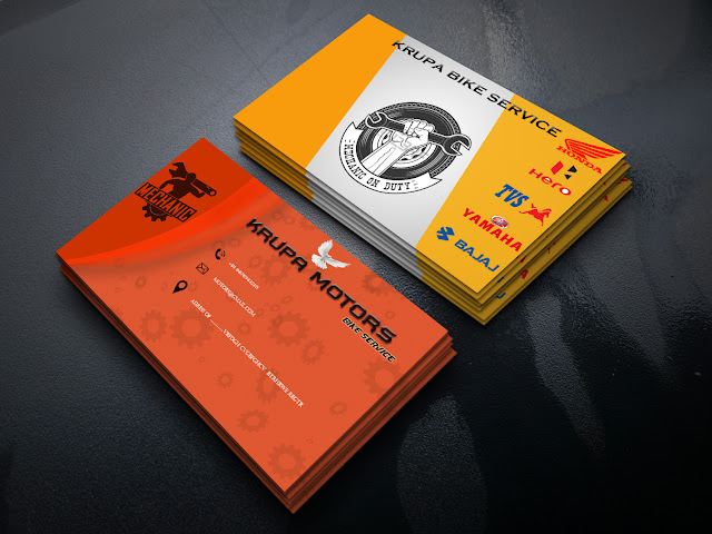 How to design a Professional Business Card in Photoshop