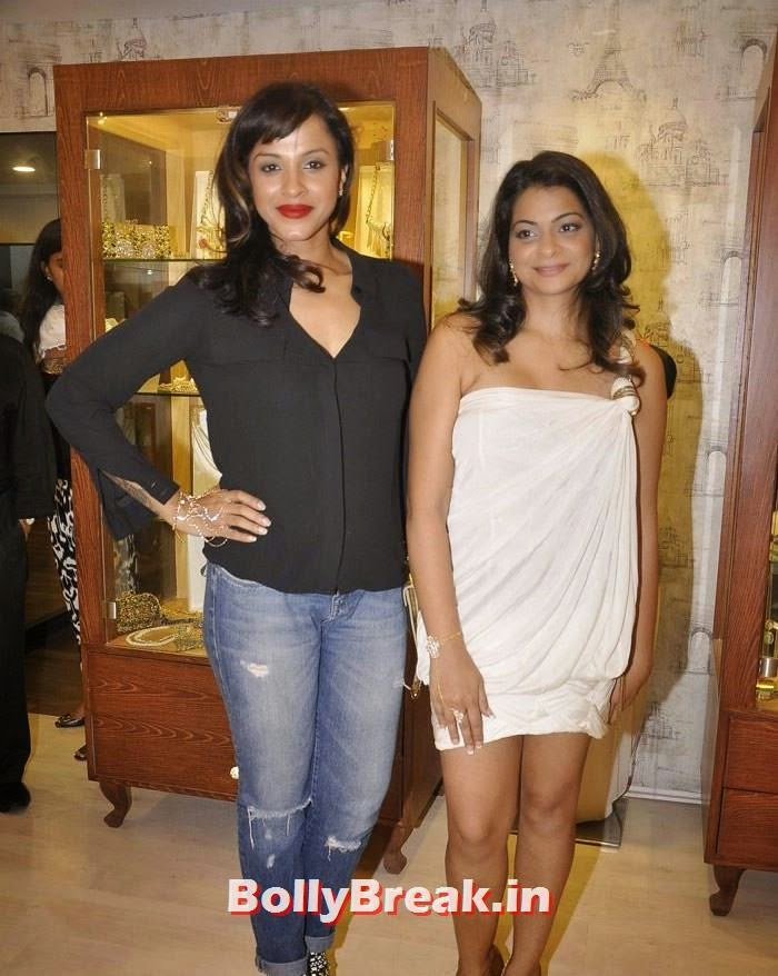 Manasi Scott, Bansri Mehta, Pics from Bansri Mehta Jewellery Lounge Preview