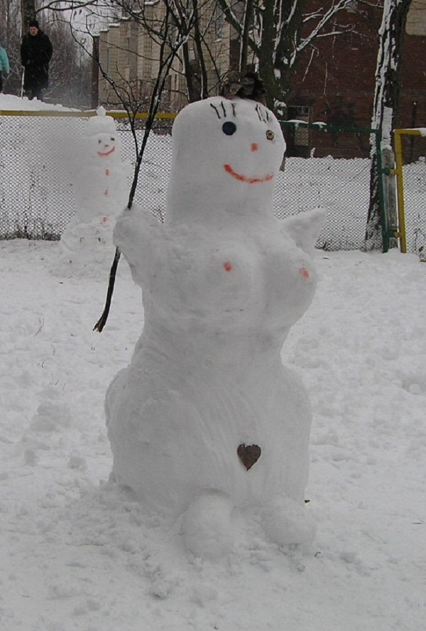 Hardcore sexy snowmen whore