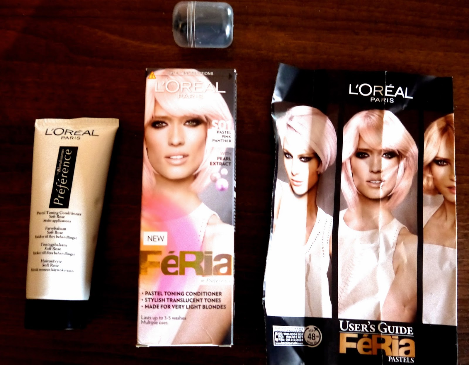 L'oreal Feria 'Pink Panther' review