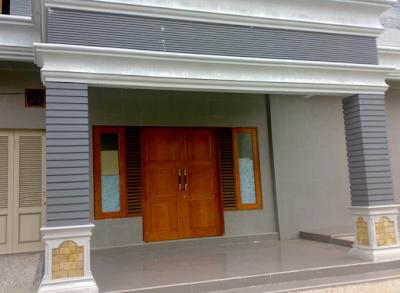 desain tiang rumah klasik