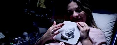 Tatjana Guerra liečia 3D būdu atspausdinto kūdikio atvaizdą