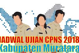 Pengumuan Jadwal Ujian CPNS 2018 Kabupaten Musi Rawas Utara PDF