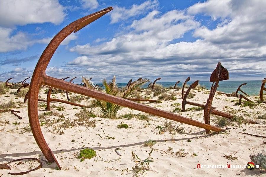 Cementerio de Anclas, Algarve