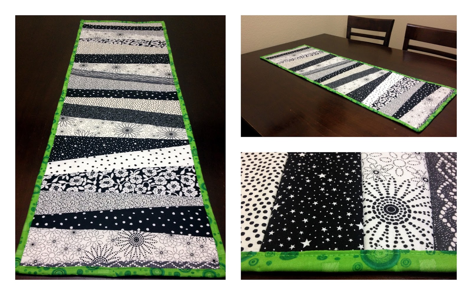 Snips Spice Scraptastic Quilt As You Go Table Runner