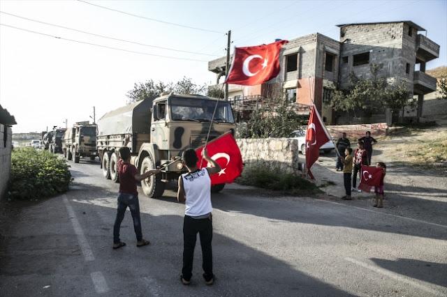 Sınırda konuşlu birliklere takviye amaçlı gönderilen askeri birlikler.