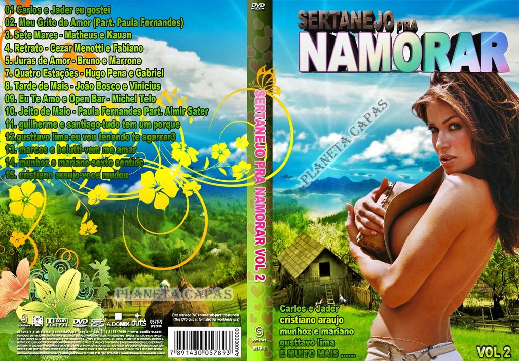 dvd sertanejo pra namorar 2012