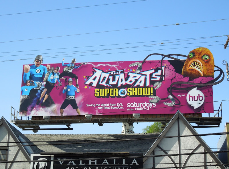 Aquabats Hub billboard