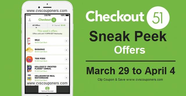 http://www.cvscouponers.com/2018/03/sneak-peek-checkout-51-cash-back-offers.html