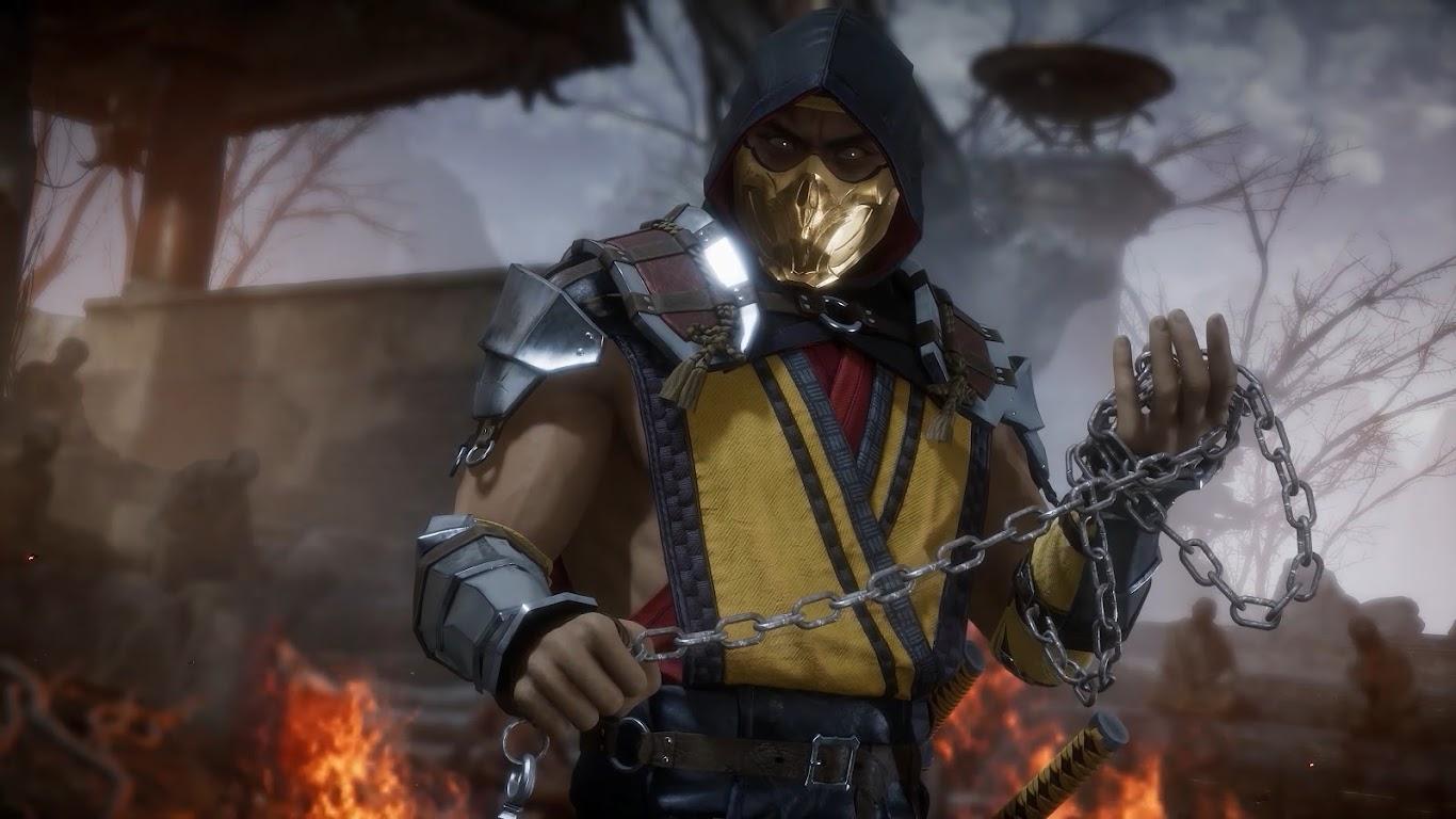 Scorpion, Mortal Kombat 11, 4K, #57 Wallpaper
