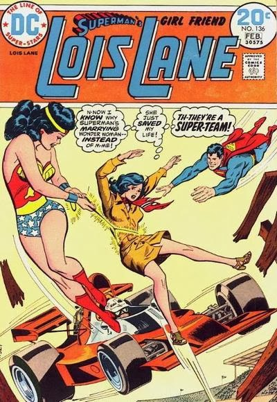 Lois Lane #136, Wonder Woman