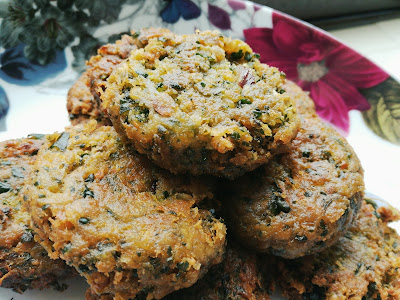 THE PATH TO WHERE: Easy Spinach Falafel Patties!