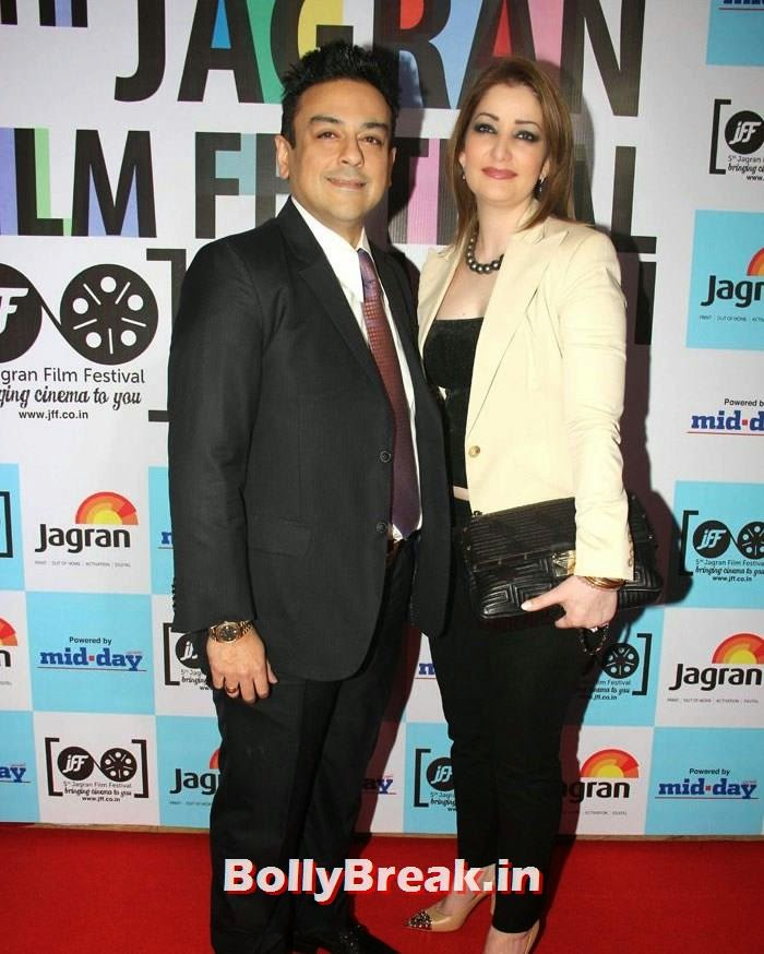 Adnan Sami, Zeba Bakhtiyar, 5th Jagran Film Festival Red Carpet Pics
