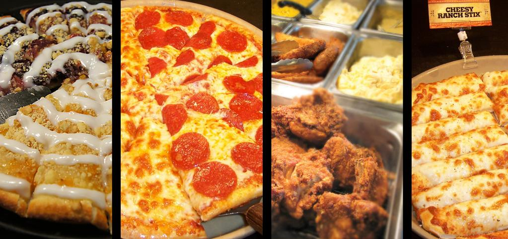 Pizza Ranch Menu and Price List US 2018