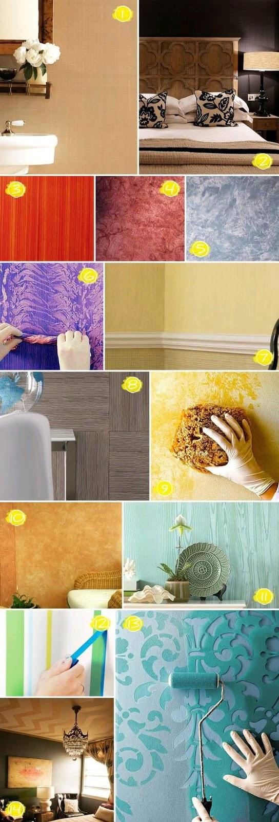 Ideas para pintar las paredes de tu casa construccion y - Pintar las paredes de casa ...