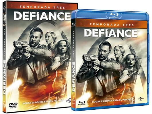 A la venta en Blu-ray y DVD la tercera temporada de 'Defiance'