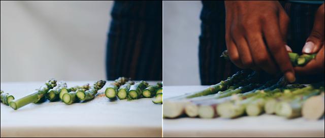 mozzarella asparagus pasta