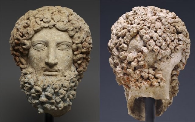 Getty Museum returns head of Greek statue to Italy