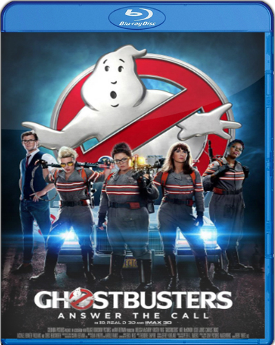 Ghostbusters [2016] [BD25] [2IN1] [Latino]