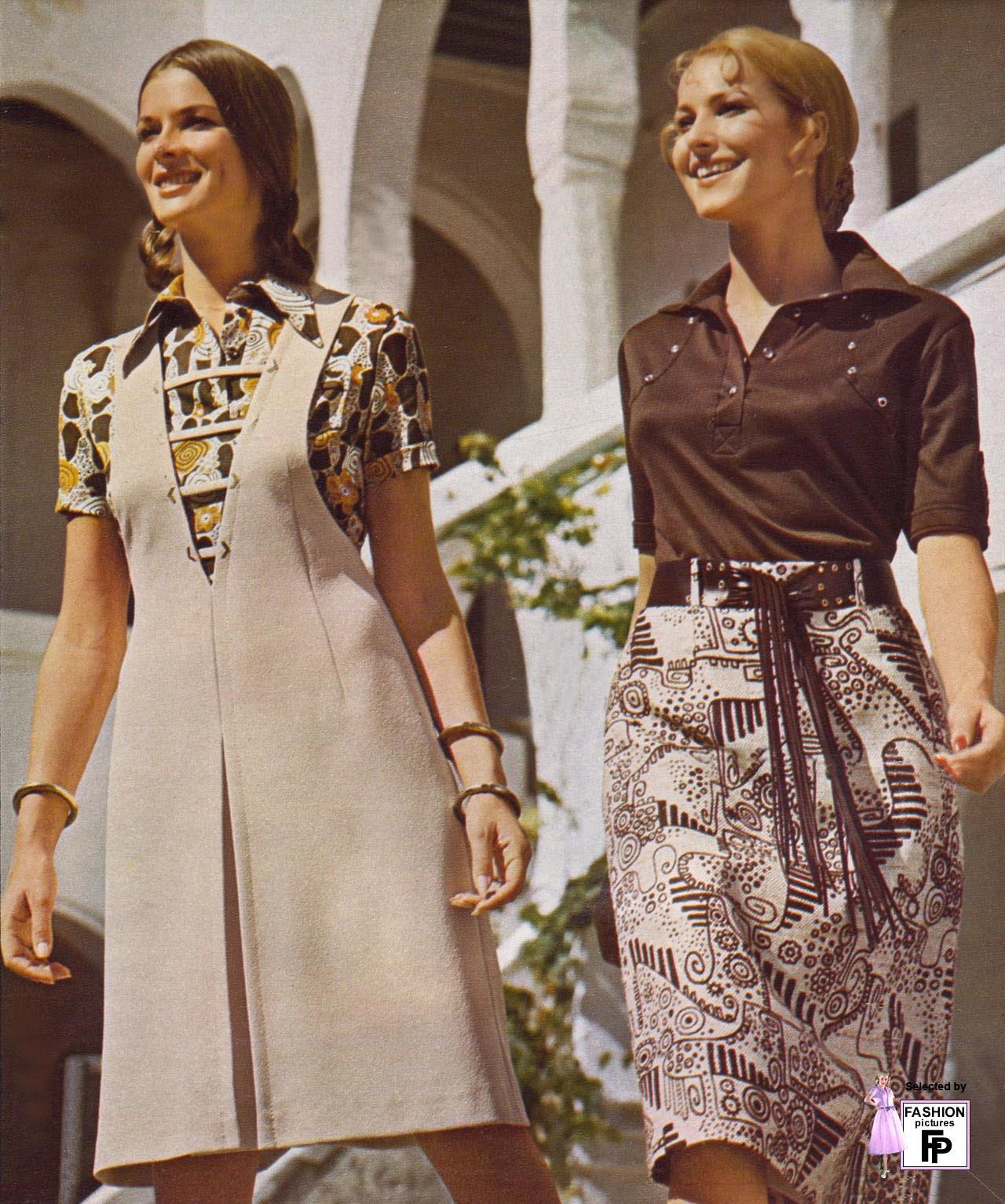 1970 clothing styles fashion