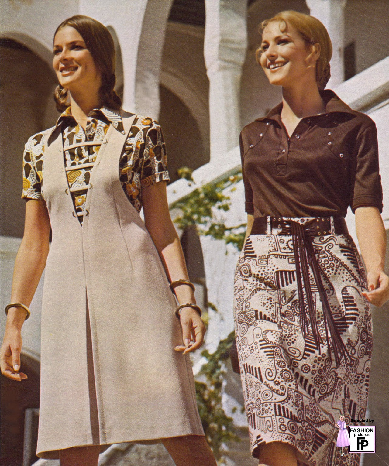 Style Vintage 50 Awesome And Colorful Photoshoots Of The 1970s Fashion