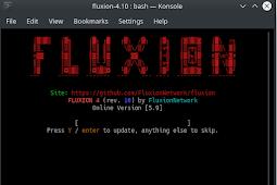 Cara Install dan Menggunakan Fluxion Evil Twin Attack di Kali Linux