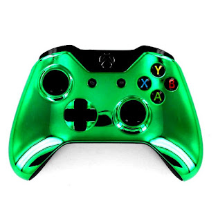 modded controllers xbox one mod controllers xbox one green chrome
