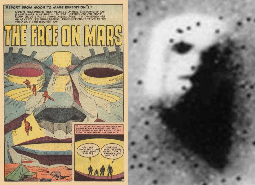 Anomálie na Marse