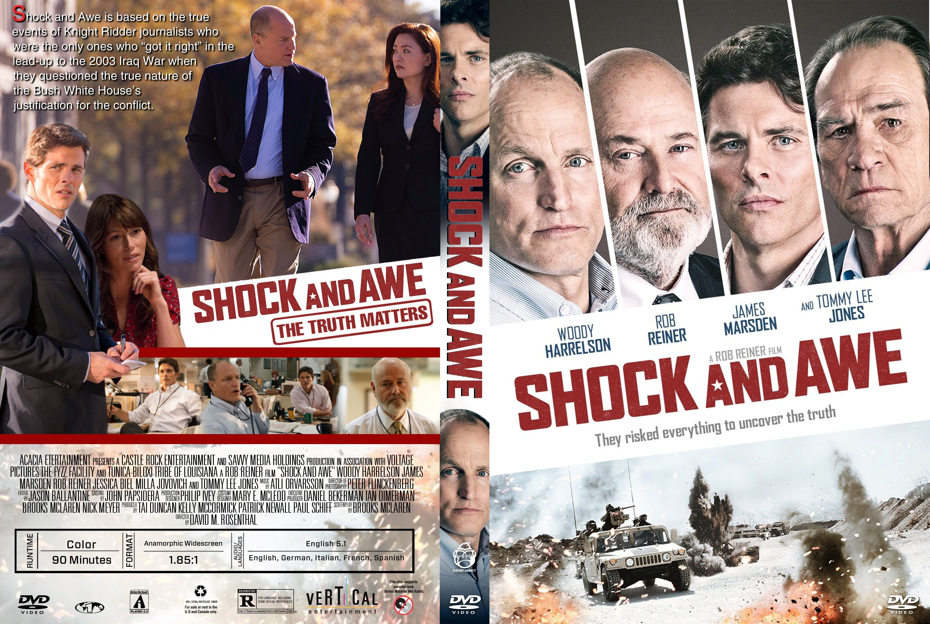 Shock And Awe Dvd Cover Cover Addict Dvd And Bluray Covers