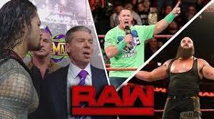 Mr. McMahon suspends Roman Reigns: Raw, March 12, 2018