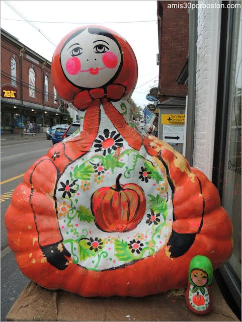 Calabazas Decoradas para Halloween en Maine