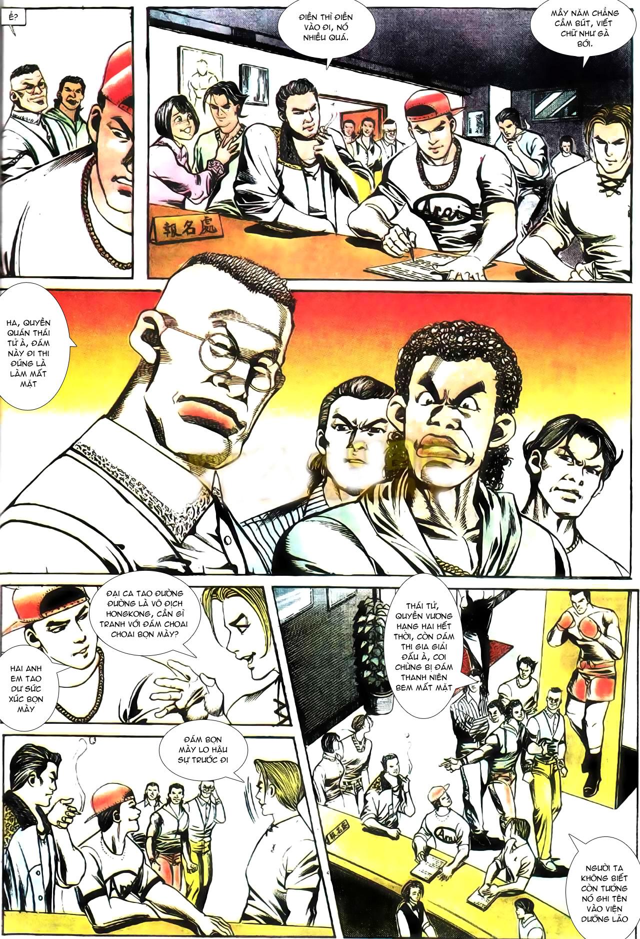 Người Trong Giang Hồ chapter 165: phong thái ngưu cô trang 20