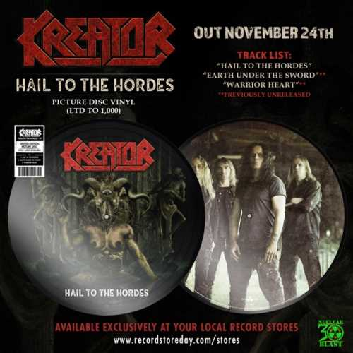 "KREATOR: Το επίσημο live video του ""Hail To The Hordes"""