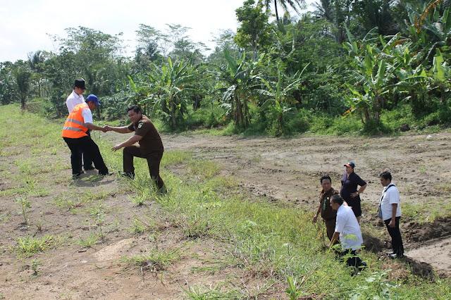 Pengecekan Lokasi Dam Sungai Cijolang