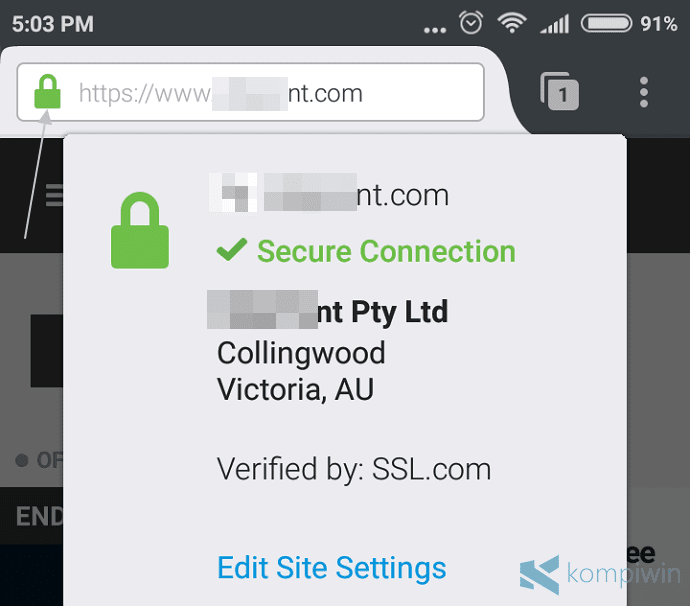uc browser web notifikasi