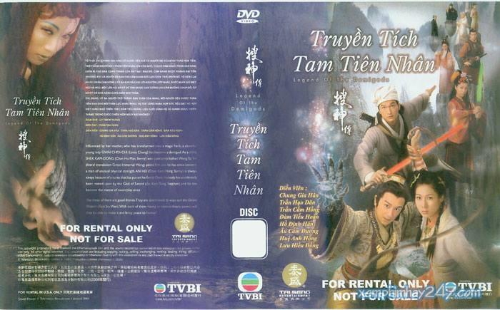 http://xemphimhay247.com - Xem phim hay 247 - Truyền Tích Tam Tiên Nhân (2008) - Legend Of The Demigods (2008)