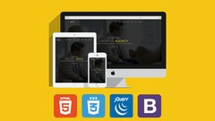 Build Creative Website Using HTML5, CSS3, jQuery & Bootstrap