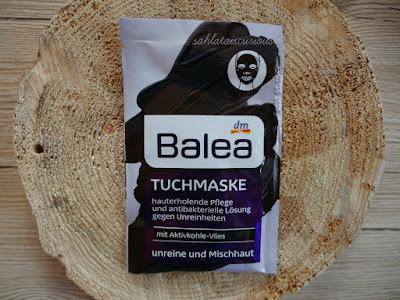 Balea Tuchmaske Aktivkohle