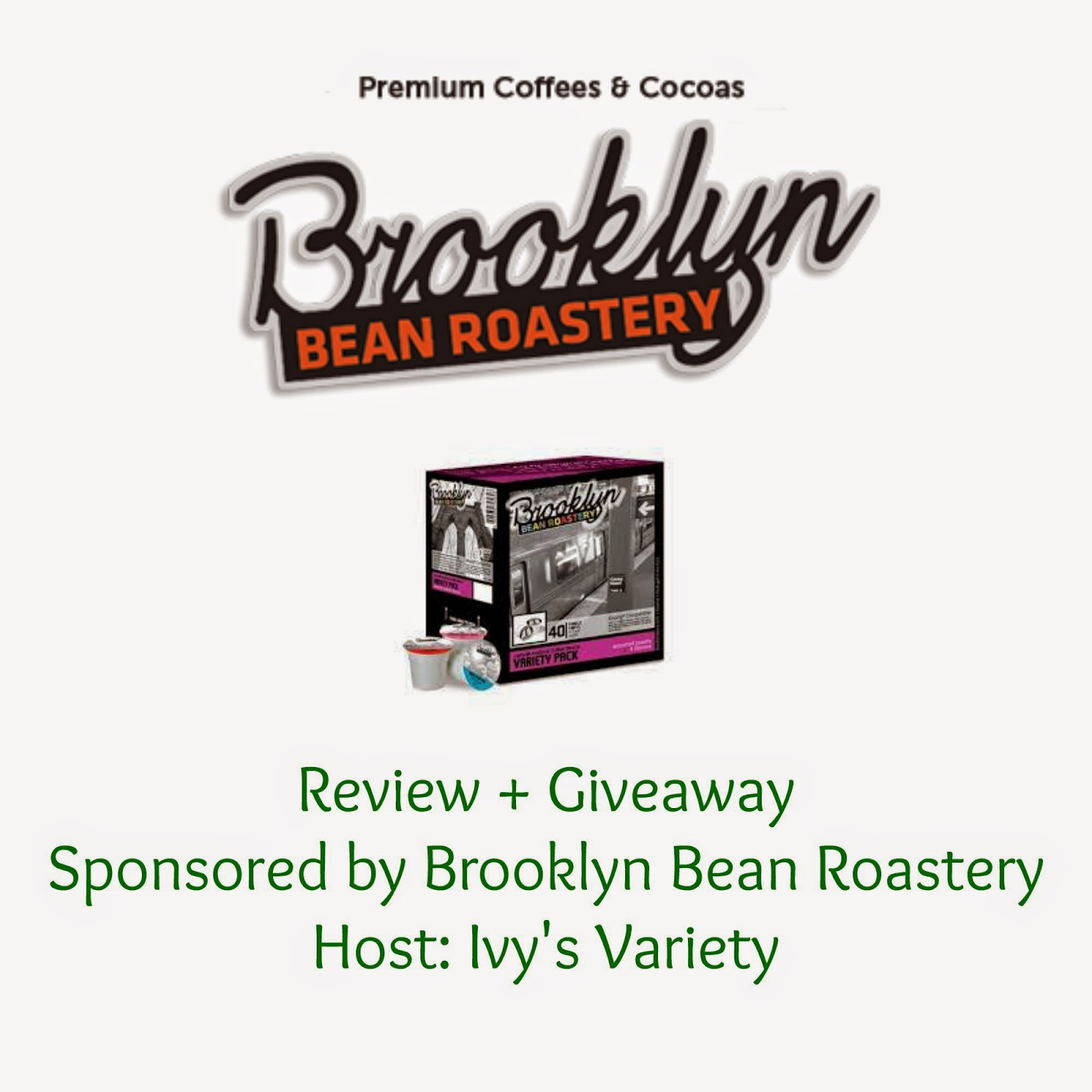 Brooklyn Bean Roastery Review and #giveaway