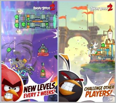 game terbaru Angry Birds 2 Mod Gems & Energy