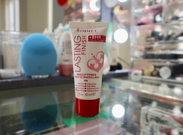 Rimmel long lasting finish 8 hr primer review and photos