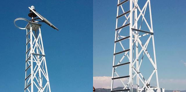 Επικίνδυνη σιδηροκατασκευή σε αντικατάσταση του φάρου στο Μπίστι Ερμιόνης