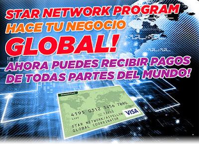 Tarjeta de debito Internacional para afiliados AmarillasInternet