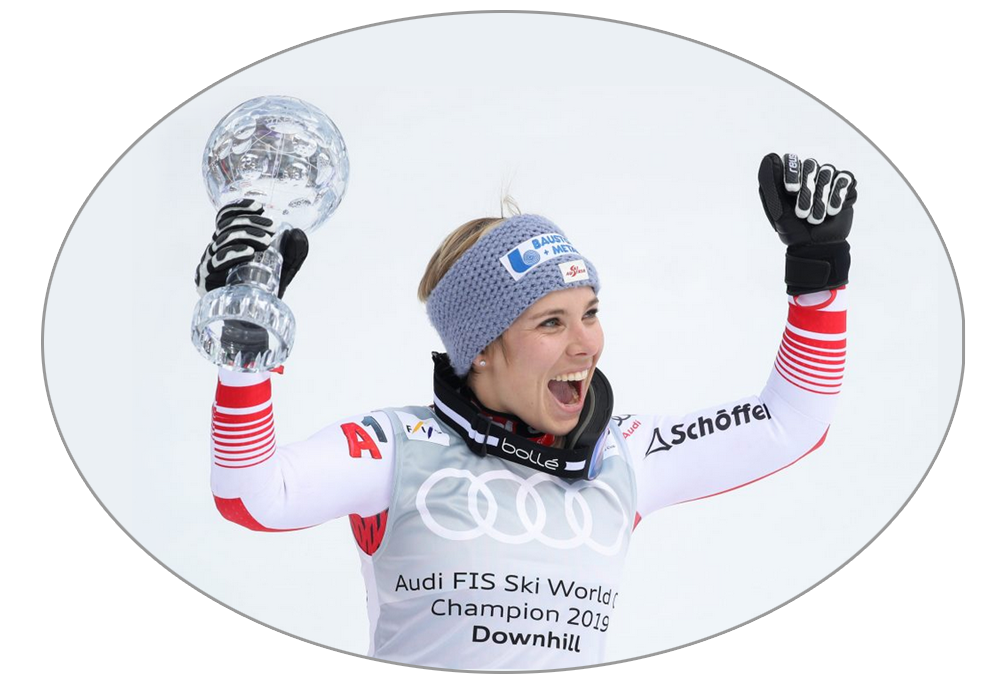 Nicole Schmidhofer glóbus zjazd - Andorra 2019