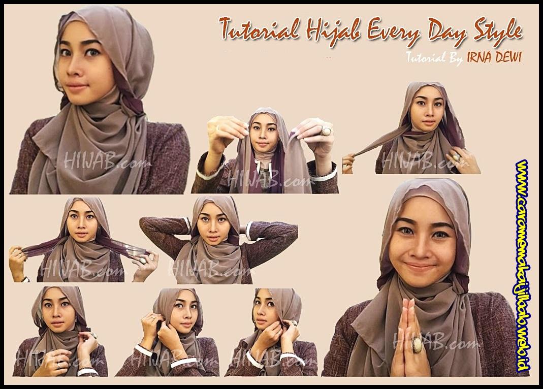 Simak Yuk Langkah Mudah Mengenakan Hijab Di Bulan Ramadhan