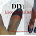 DIY : lace-up ballet flats