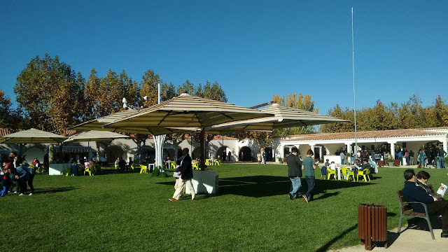 Hipódromo de la Zarzuela. Zona de terraza