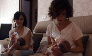 samanta y la maternidad