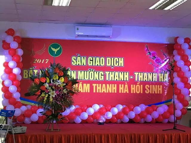 Sàn Bất động sản Mường Thanh kỷ niệm Dự Án Thanh Hà Hồi Sinh
