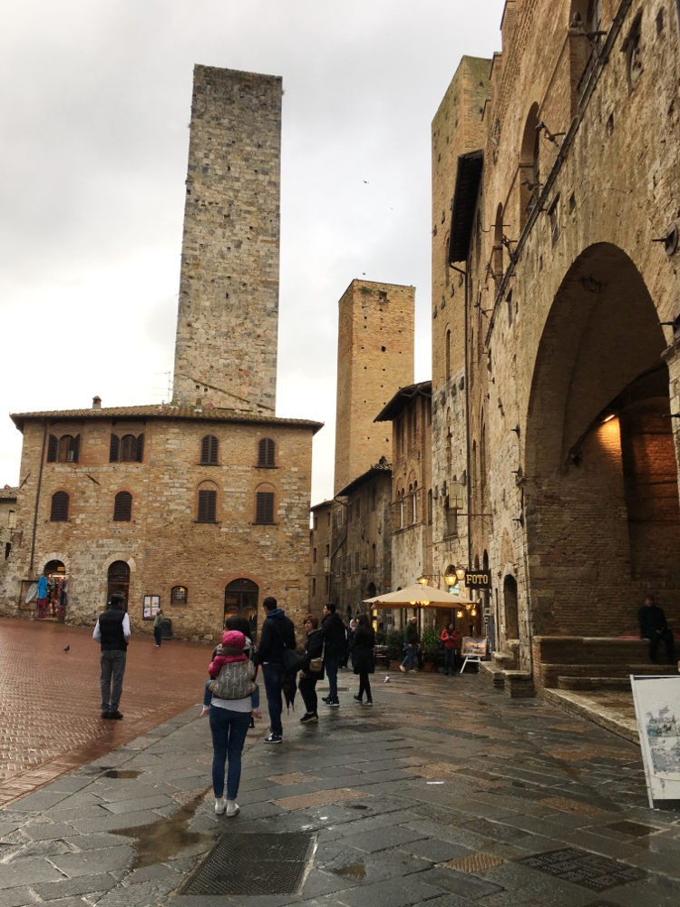 le torri medievali di San Gimignano